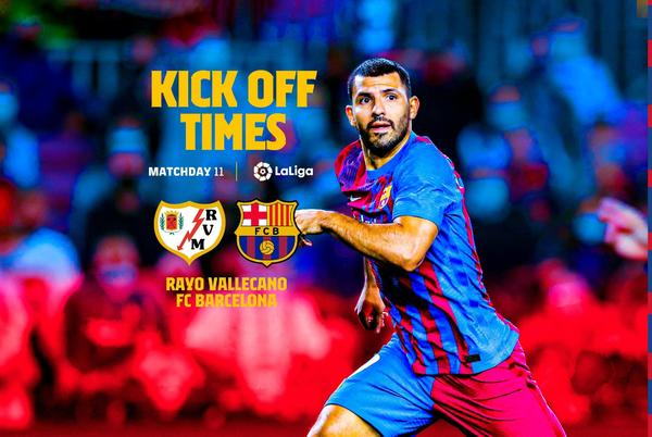 Picture for When and where to watch Rayo Vallecano v FC Barcelona
