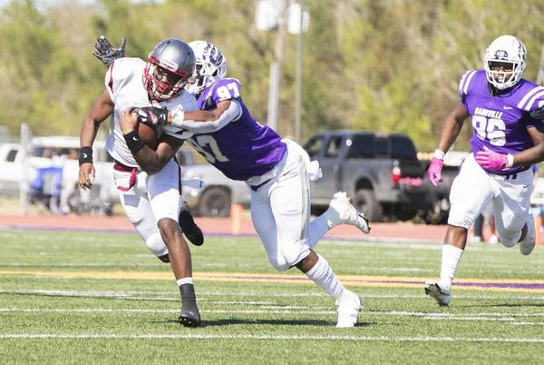 Picture for Destrehan rushing attack helps Jai Eugene Jr. match father's achievement against Hahnville