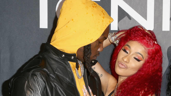 Cardi B Offset Shock Fans With Raunchy Moves In Graphic