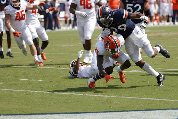 Picture for Illinois Football: 4 observations from the Illini loss to Virginia