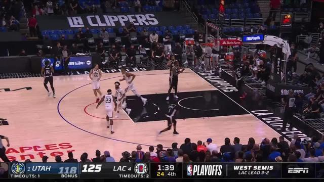 Picture for Los Angeles Clippers   Royce O'Neale (21 points) Highlights vs. LA Clippers