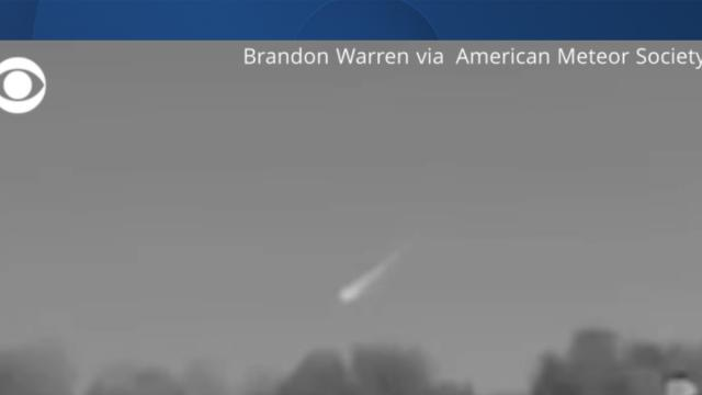 Cover for Massive fireball falls from sky in North Carolina