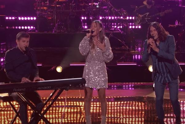 """Picture for Sibling Trio Performs Breathtaking Version Of Glen Campbell's """"Wichita Lineman"""" on 'The Voice'"""