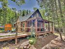 Picture for Waterfront camp on 4 acres in Maine. Circa 1914. $399,900