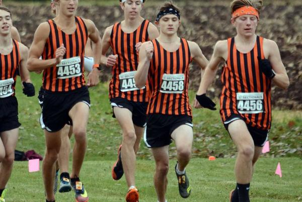Picture for Poynette boys cross country off and running this season after last year's state breakthrough