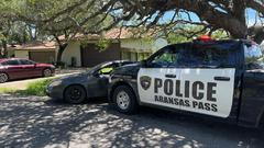 Cover for Police: Texas Man With COVID-19 Arrested After 'Intentionally Breathing' On Family, Assaulting Woman