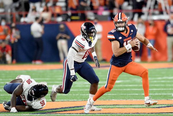 Picture for Syracuse hits last-second field goal to beat Liberty: Live score, updates