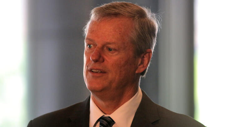 Cover for Charlie Baker says Massachusetts is looking into a 'more universal' proof of COVID-19 vaccination system