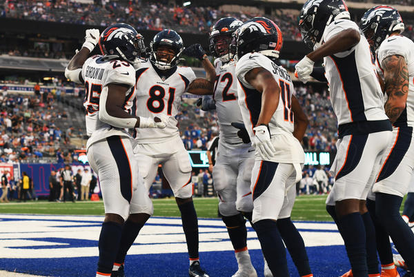 Picture for Broncos coach Vic Fangio's aggressive offensive approach pays off in opening-day win over Giants
