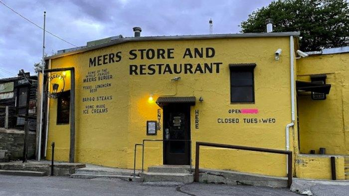Cover for The Best Burger In Oklahoma Is Found Off The Beaten Path At Meers Store & Restaurant In Oklahoma