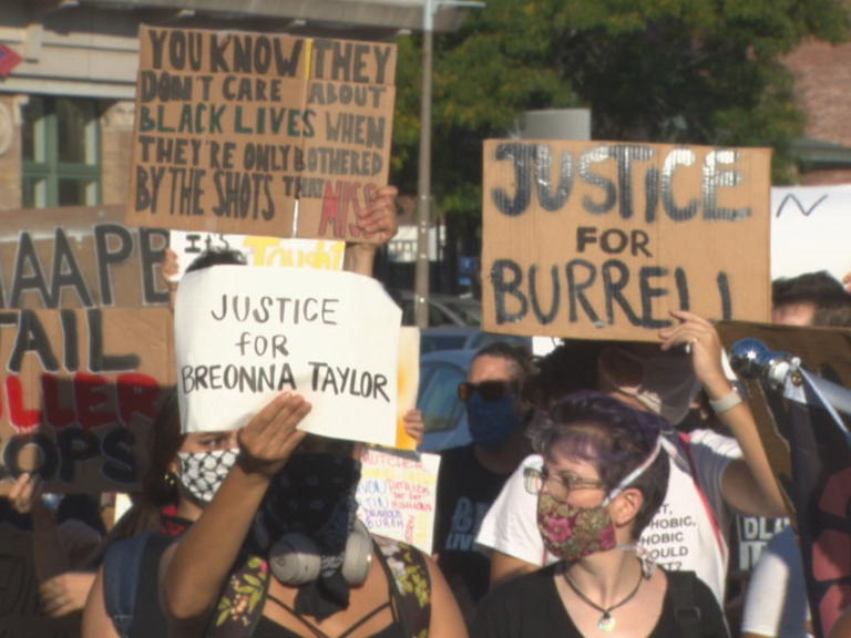 Hundreds March In Boston For Second Day Demanding Justice For Breonna Taylor News Break