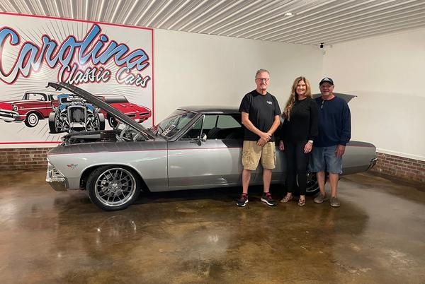 Picture for Back to her roots: Randolph County native opens classic car dealership
