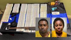Cover for $12,000 in cash, crack cocaine, weapons seized, two arrested in Mississippi drug operation