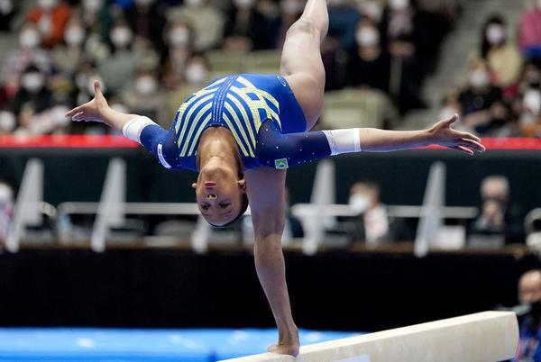 Picture for Gymnast Rebeca Andrade stands proud at end of her breakthrough year   Tumaini Carayol