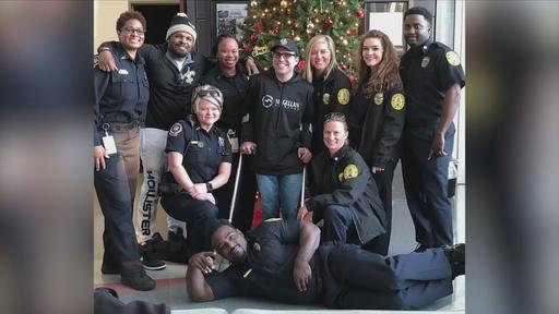 Best Christmas Gift Ever Nightwatch Nation S Baton Rouge Cast Meets Biggest Fan News Break