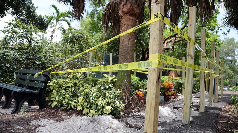 Picture for Florida castle owner tries to take over neighboring city park