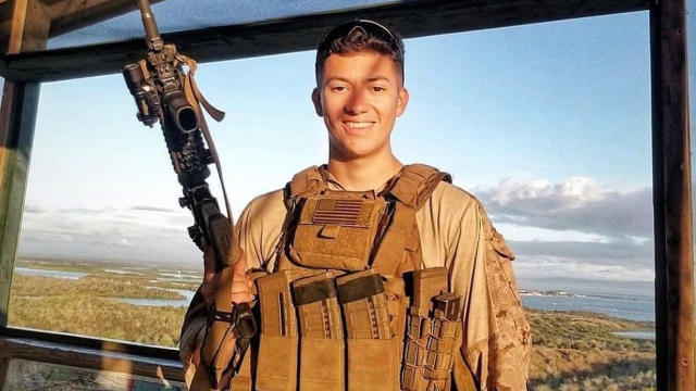Cover for Memorial planned for fallen Coachella Valley Marine Saturday in Palm Springs