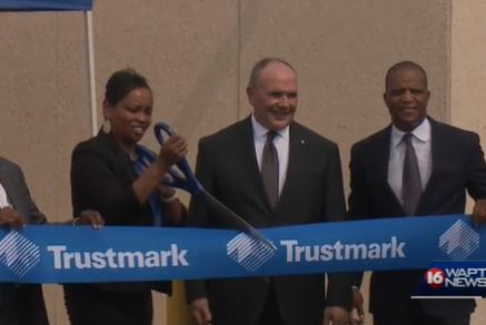 Picture for Trustmark bank opens new office to help those with lower income