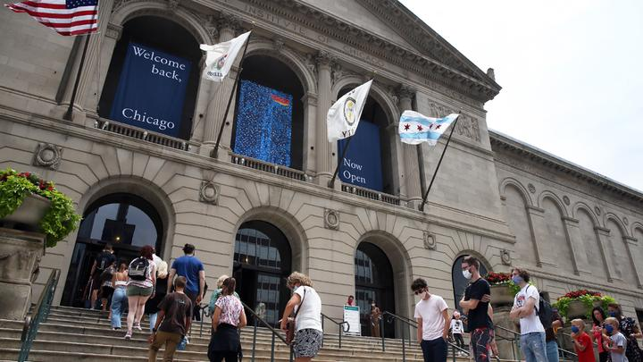 Cover for Chicago museum fires all of it's mostly White female, financially well-off docents for lack of diversity