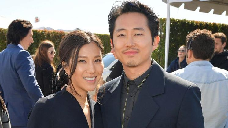 Picture for Who is Steven Yeun's wife Joana Pak? Inside love life of Asian-American actor of Korean descent in Oscar run