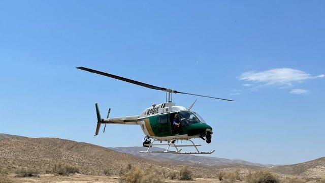 Picture for KCSO rescues 88-year-old man missing in Taft hills