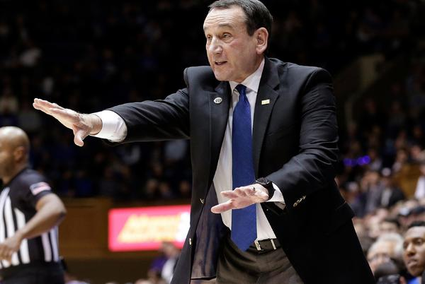 Picture for College basketball: Before retirement, Duke's Mike Krzyzewski to face Army one final time