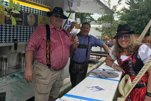 Picture for St. Clare of Assisi Oktoberfest doubles size of biergarten for annual event in O'Fallon
