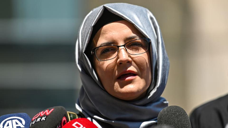 Picture for Fiancée of Jamal Khashoggi accuses US of 'hiding the facts' about murder of dissident Saudi journalist