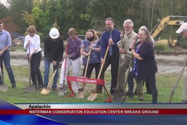 Picture for Waterman Conservation Education Center breaks ground