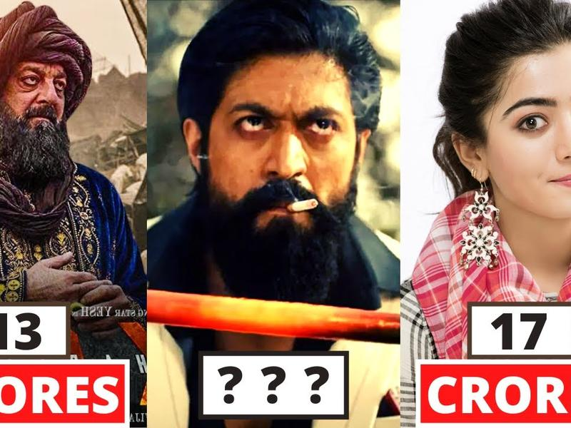 Shocking Salary Of KGF Chapter 2 Movie Actors | Yash ...