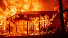 Cover for 'Devastating': Dixie Fire, California's largest wildfire, devours multiple homes