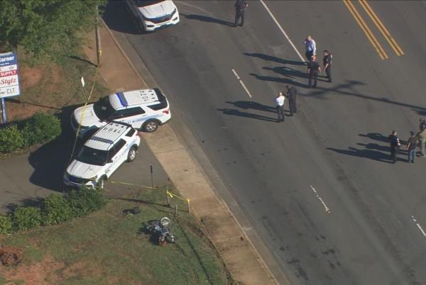 Picture for Officer shoots woman after she tries to run him over with her vehicle in south Charlotte, police say