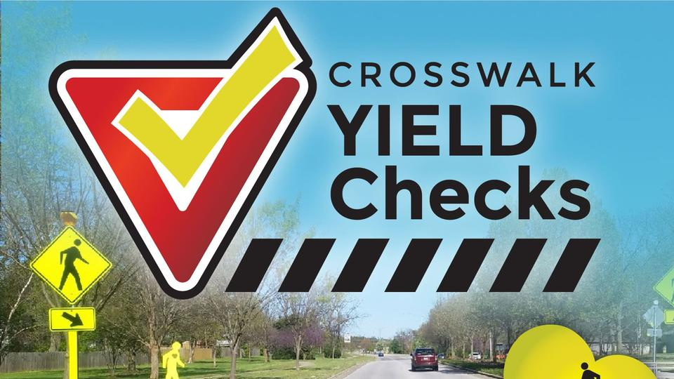 Picture for SGF Yields notifies the public of Crosswalk Yield Check location for week of June 14