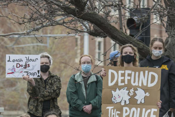 """Picture for Minneapolis to vote on """"defund the police"""""""