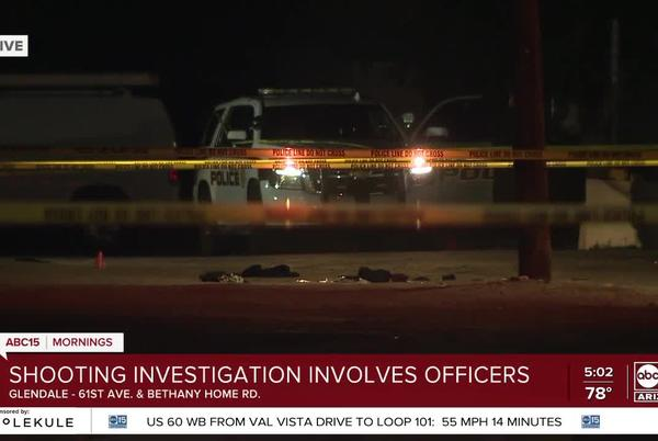 Picture for Armed man shot by officers in Glendale after reportedly threatening self-harm