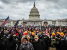 Picture for 480 arrested in Capitol riot case, including at least 53 who have served in the military