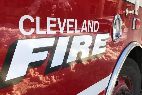 Picture for Intoxicated driver crashes into Cleveland Fire truck, police say