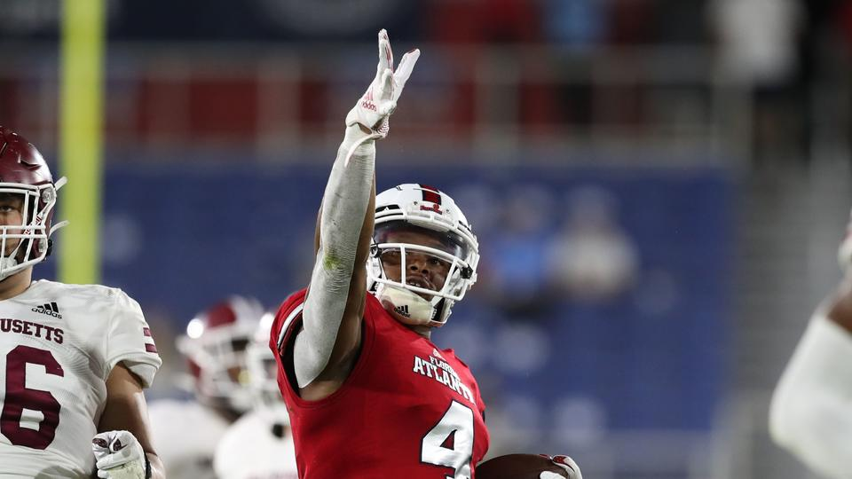 Picture for FAU's BJ Emmons, Leighton McCarthy sign NFL deals as undrafted free agents