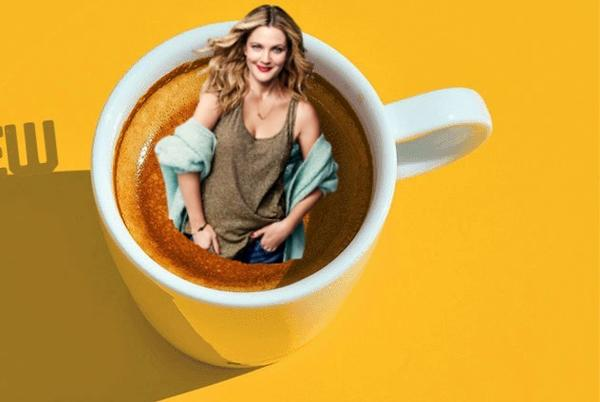 Picture for Barnie's Coffee on Drew Barrymore this week