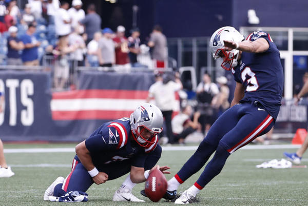 Picture for Patriots Make Decision On Rookie Kicker Quinn Nordin