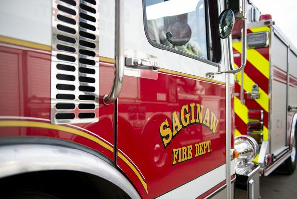 Picture for Saginaw firefighters respond to 2 structure fires in one night on city's East Side