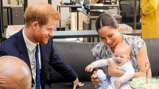 prince harry and meghan s son archie is growing up and full of energy news break prince harry and meghan s son archie is