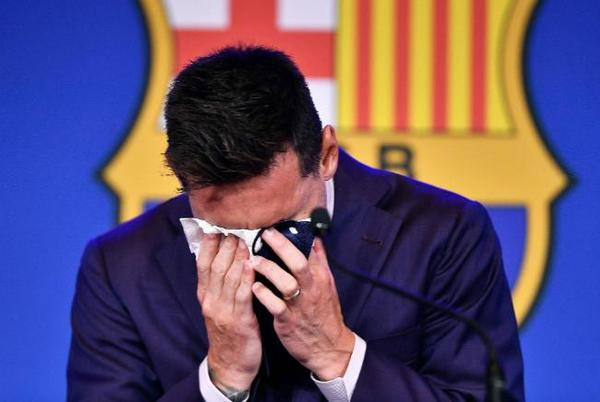 Picture for Lionel Messi says PSG move is a 'possibility' as he bids tearful farewell to Barcelona