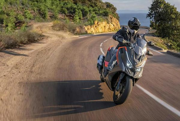 Picture for 2022 Kymco DTX 125 Adventure Scooter Rolls Out In France