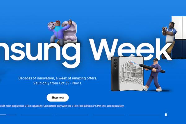 Picture for Samsung kicks off 'Samsung Week', joins early Black Friday festivities
