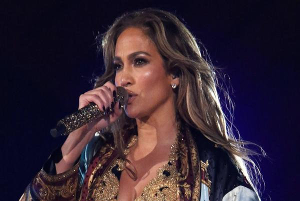 Picture for Jennifer Lopez Dazzles at Global Citizen Live in Embellished Jumpsuit and Sleek Leather Boots