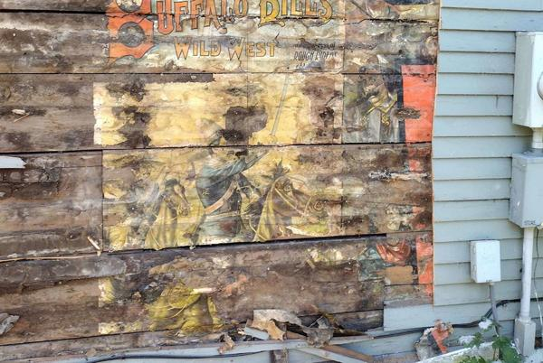 Picture for More than century old Buffalo Bill poster uncovered in Manistee