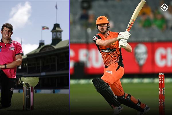 Picture for Moises Henriques and Ashton Turner play up Sixers-Scorchers rivalry ahead of BBL10 final