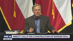 Cover for Gov. Abbott announces, Texas will build the wall- What's Your Point?