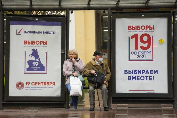 Picture for Russia votes in parliament election without main opposition